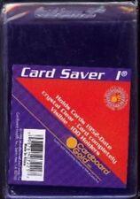 100 CARD SAVER I TOP LOADERS FOR GRADED CARDS 1 1's Cardsaver CS1