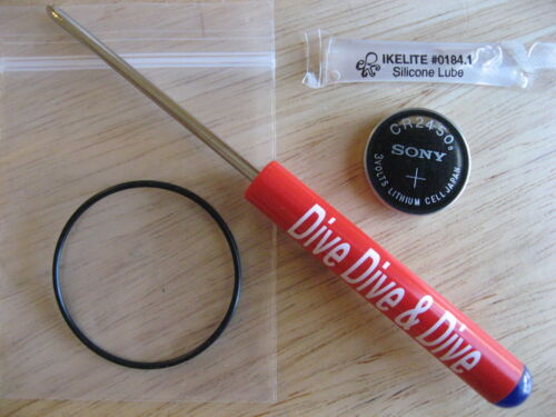 NEW! Battery Kit For Suunto D4 Dive Computer /& Tool