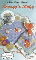 Crochet Pattern-annie Potter Presents Granny's Baby Crochet Baby Outfit Pattern