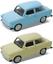 Trabant-601-reunidos-escala-1-34-metal-pull-back-original-Welly-puertas-para-abrir miniatura 1