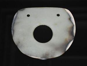 Good-Chinese-034-Qi-Jia-034-Culture-Old-Jade-Carved-Big-034-Bi-034-Figure-L-16-3-CM