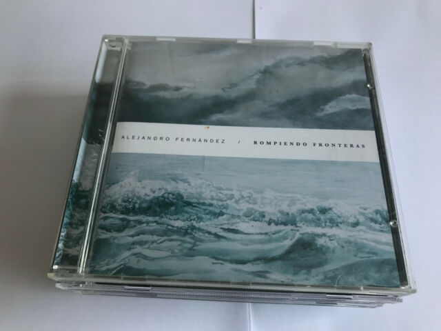 Alejandro Fernández - Rompiendo Fronteras [New and UNSEALED CD]