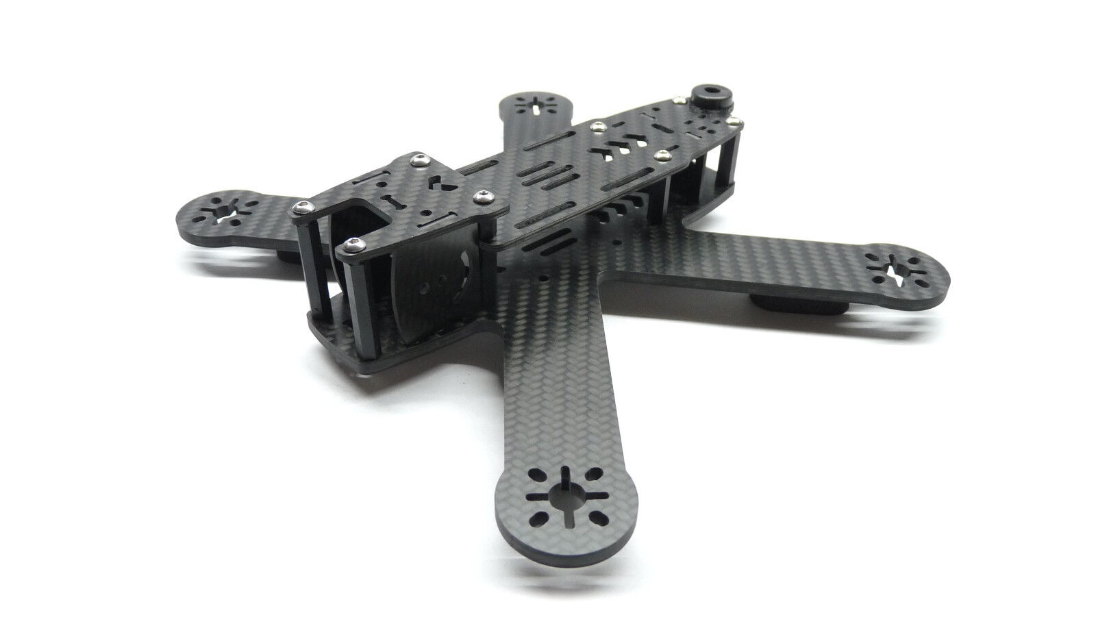 MINI X-Quad Rage 210 LR (Low Rider) CFK KIT CNC fresata