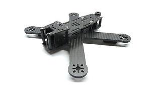 Mini X-Quad  Rage 210 CFK Bausatz  CNC gefräst