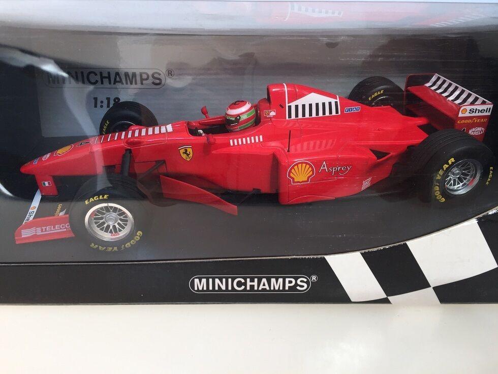 1 18 Minichamps Ferrari F1 E.Irvine