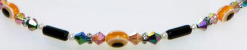 File gran delicada 3er schmuckset vidrio laminado Evil Eye multicolor 386f