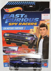 Hot Wheels 2020 Fast /& Furious Spy Racers ion motors Thresher