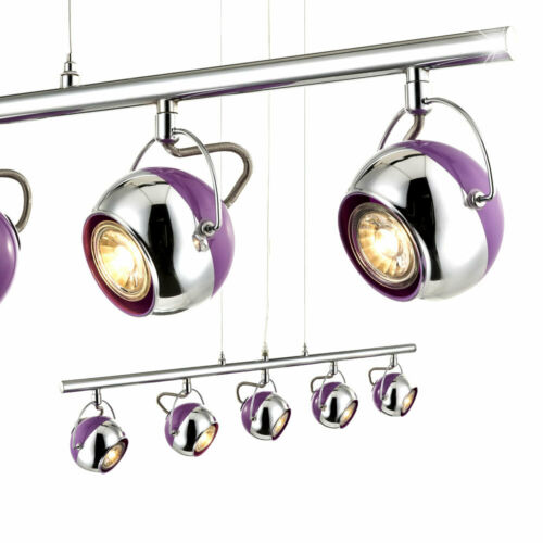 LED Decken Pendel Wand Spot beweglich Strahler Retro Lampe purple Big.Light