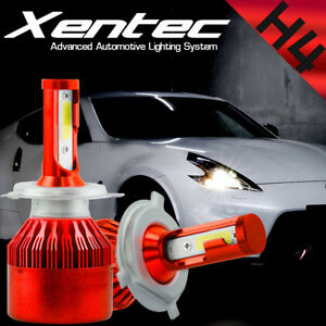 XENTEC LED HID Headlight Conversion kit H4 9003 6000K 2005-2007 Pontiac Wave5