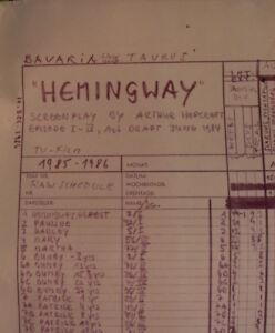 orig-FILMPLAN-STORYBOARD-238x103-Fernsehfilm-HEMMINGWAY-Bavaria-TAURUSFILM