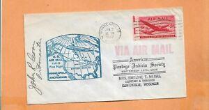 Primer Vuelo Am 28 Minneapolis Minn A Anchorage Alaska Jan 2,1947