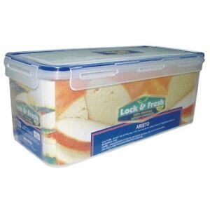 38L CLIP LOCK AIRTIGHT BREAD BIN FOOD CONTAINER STORAGE BOX