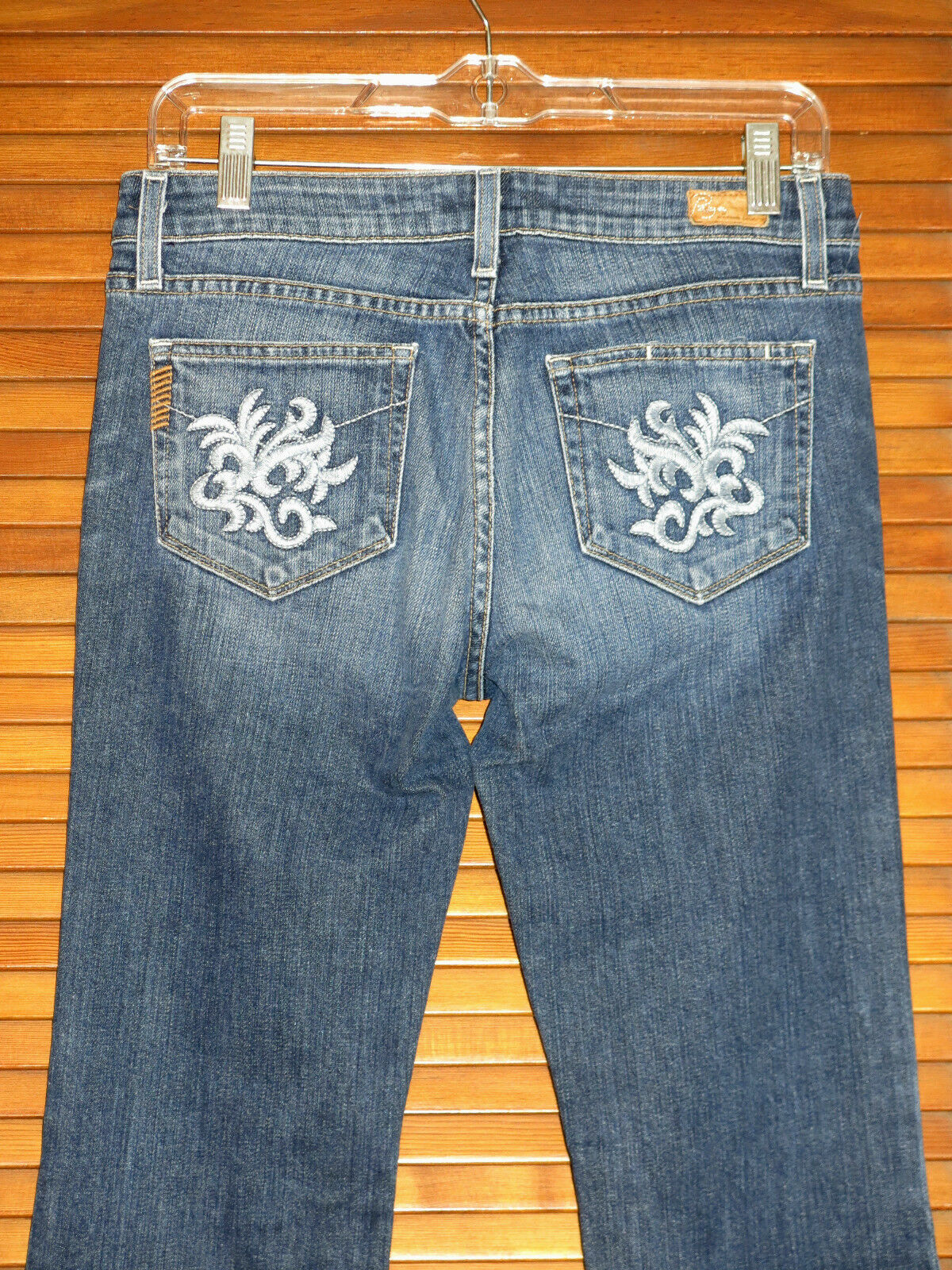 Paige Women's Jeans  Size 28  Hollywood Hills Classic Rise Boot Cut