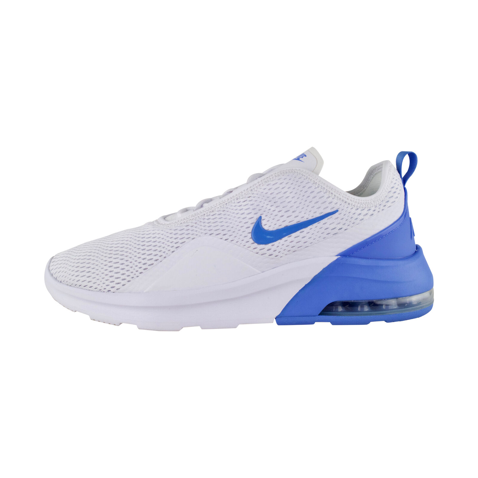 Tenis Negro Azul Blanco Nike Air Max Motion 2