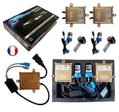 ► Kit HID Xénon 55W Slim VEGA® 2 ampoules H1 5000K DSP Ampoules métalliques ◄