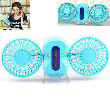 Mini Portable Super Battery Operated Dual-Motor 350 Rotating Fan Outdoor