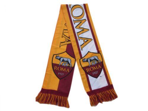 Scarf Roma Original Official as Roma Polyester Summer Stadium Giallorossa