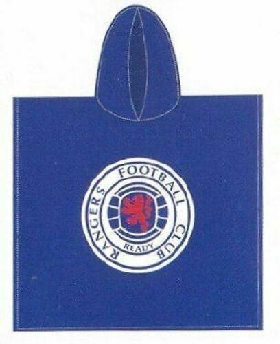 Rangers Football Club Hooded Towel Poncho Swimming Holiday Beach Girl Boy footy