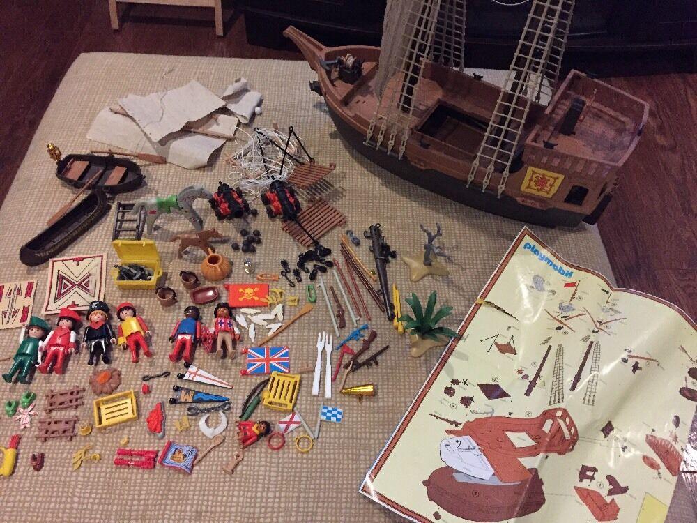 Playmobil Vintage  Pirate Ship e cifras Set  Offriamo vari marchi famosi