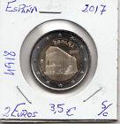 E4918 MONEDA ESPAÑA 2 EUROS 2017 SC