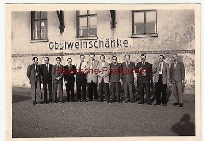 (f12599) Orig. Foto Obstweinschänke Rötha B. Leipzig, Ausflug D. Abt. Werkstoffp