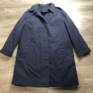 USAF US Air Force Woman's All Weather Coat + Liner Blue AF 1600 Size 16L