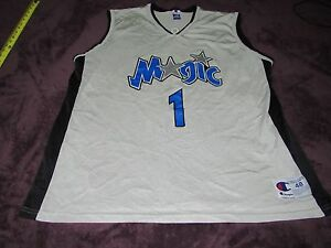 13f2c6956fe Image is loading MENS-VINTAGE-CHAMPION-ORLANDO-MAGIC-TRACY-MCGRADY-JERSEY-