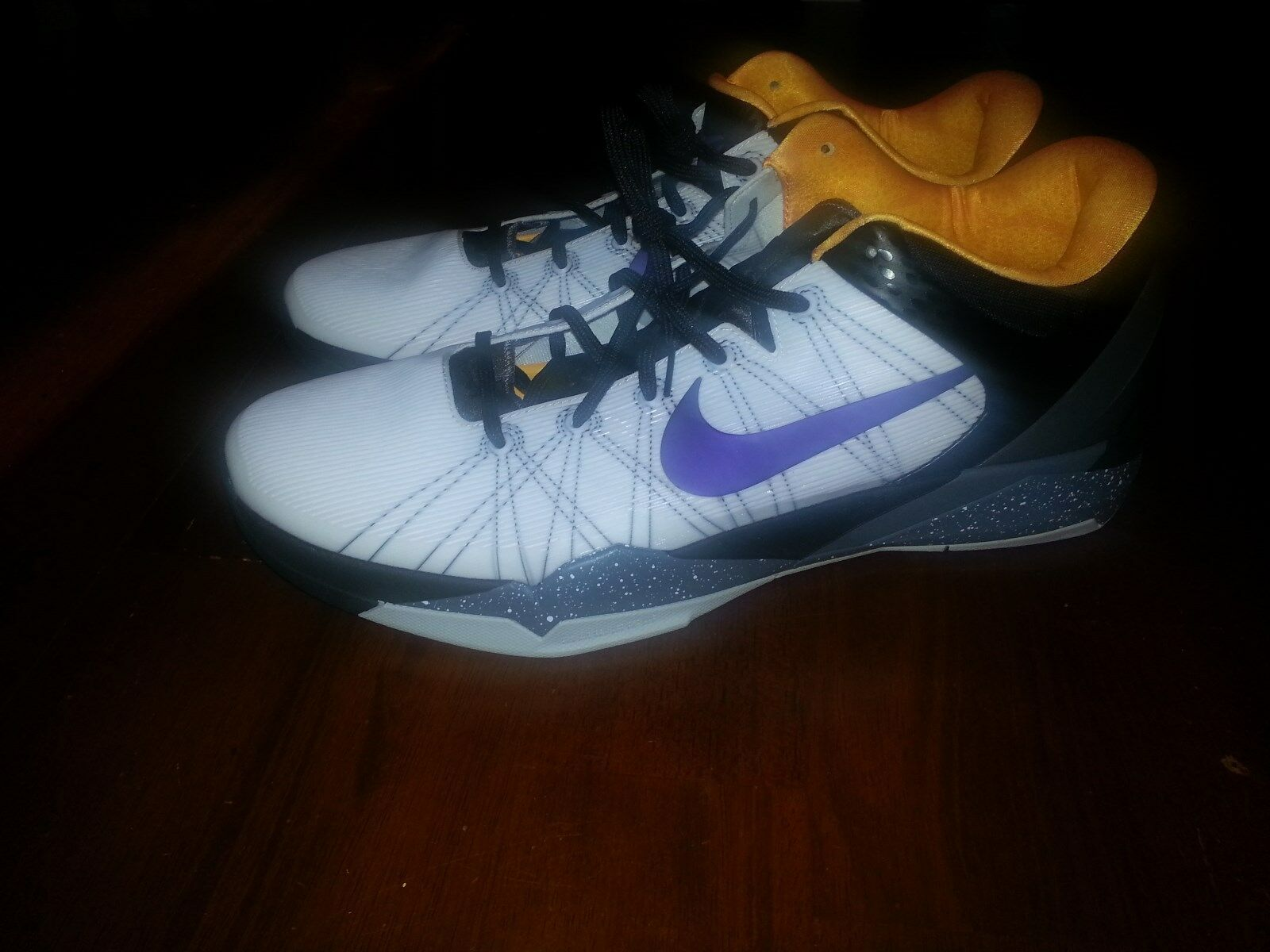 NIKE AIR ZOOM KOBE VII 7 SYSTEM ''OPENING DAY'' 488371 103 SIZE 18 LAKERS NWOB Brand discount