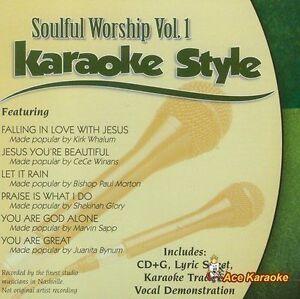 Musical Instruments & Gear Karaoke Cdgs, Dvds & Media Soulful Sounds Volume 4 Christian Karaoke Style New Cd+g Daywind 6 Songs