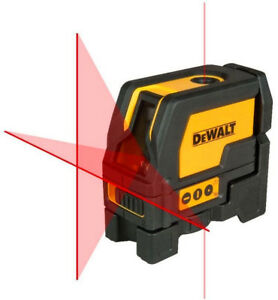 New Dewalt Dw0822 Leveling Crossline And Plumb Spots Laser