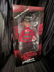 Living-Dead-Dolls-Talking-Freddy-Krueger-Sealed-New-LDD-Presents-sullenToys