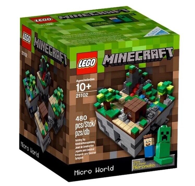 NEW   2012 LEGO MINECRAFT  21102 MICROWORLD CUUSOO 003