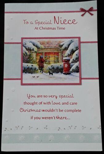 10 Niece Christmas Card