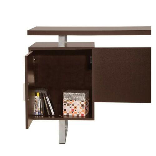 Coaster Glavan Double Pedestal Computer Desk in Cappuccino