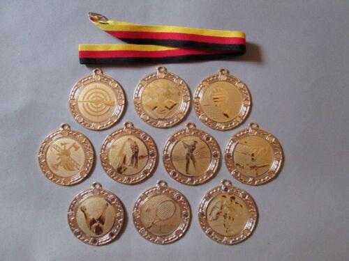 alte Medaille Sport Wandern Trimm-Spiele Trimm Dich von 1974 gut Erhalten
