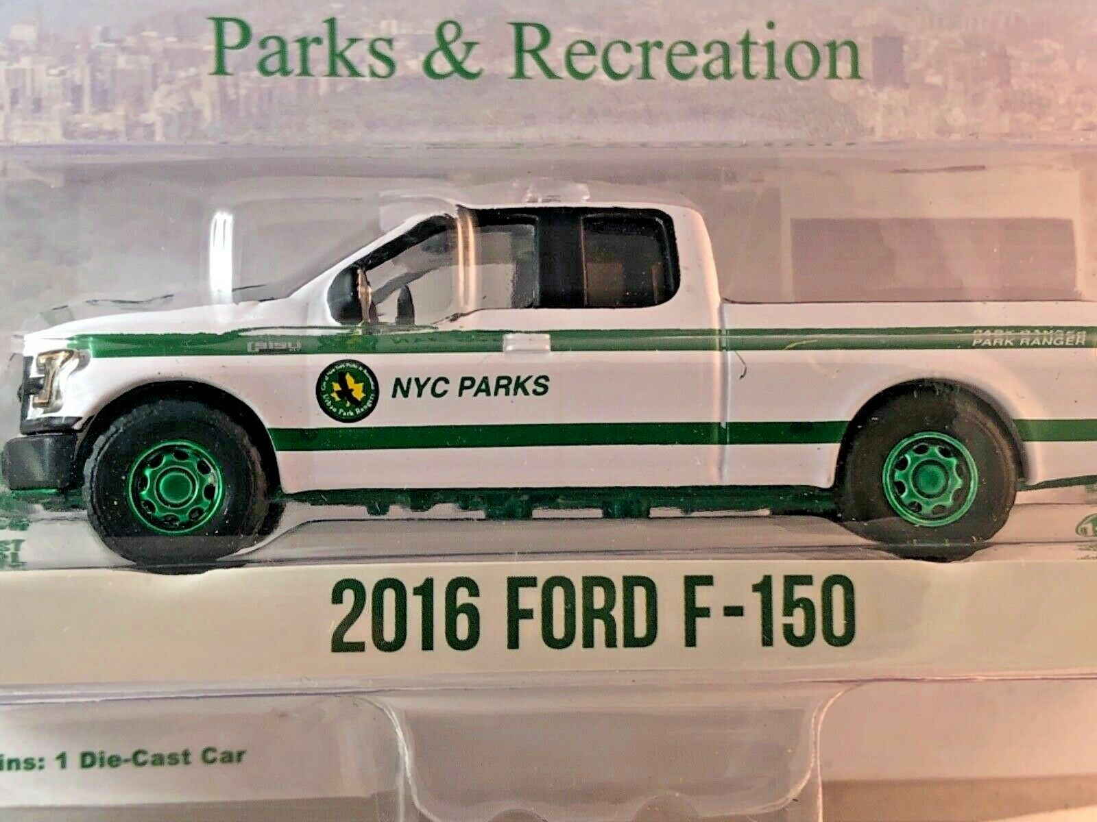 Máquina verde verdeLight Raro Chase Chase Chase 35100-E ciudad de Nueva York 2016 Ford F-150 688ff2