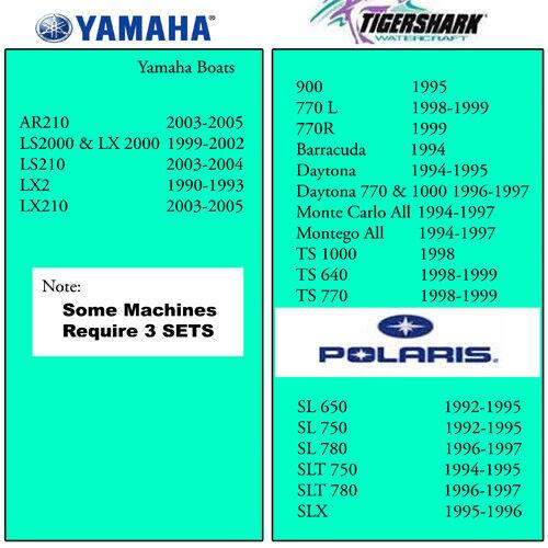 Super BN SBN Yamaha Seadoo Polaris Mikuni carb kit jetski carburetor rebuild
