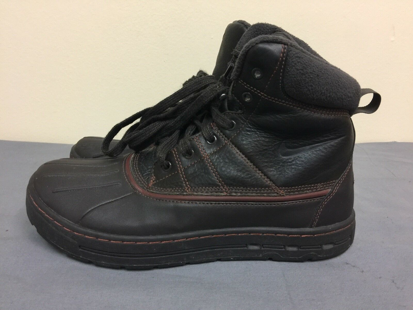 Nike Men's 386469 Ankle-High Brown Boot size US 10