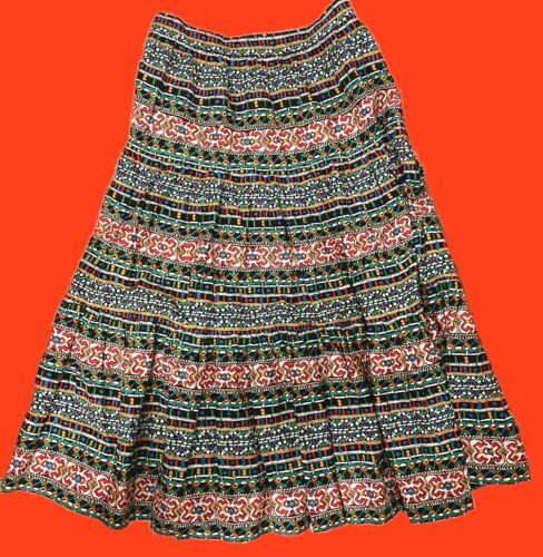 Vintage Fiesta Full Length Skirt