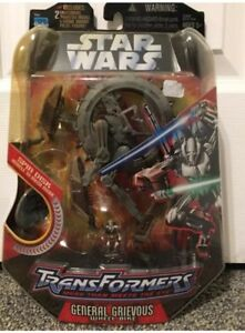 Star-Wars-Transformers-General-Grievous-Wheel-Bike-with-Spin-Disk-Brand-New