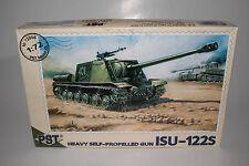 PST MODELS ISU-122S HEAVY SELF PROPELLED GUN TANK MILITARY, 1:72, BOXED