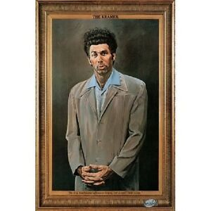 "The Kramer Portrait Television 24x36"" Poster TV Show Art ..."