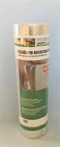1 Rolle Heizkörper Reflektionsfolie 3mm dick , 0,50m x 5m für 2,5 m² Neu in OVP