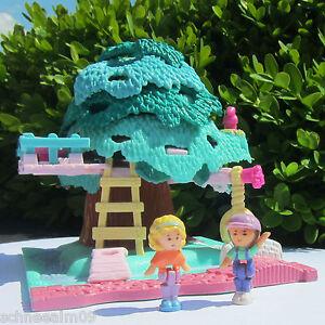 Mini Polly Pocket Tree House 1996 Rutsche Baumhaus 100% complete - Deutschland, Deutschland - Mini Polly Pocket Tree House 1996 Rutsche Baumhaus 100% complete - Deutschland, Deutschland