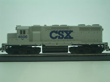 "HO MEHANO DIESEL LOCO SD 35 ""CSX"" DC ROAD # 4506 CSX LOCOMOTIVE TRAIN #M705"