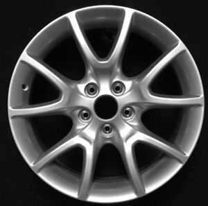 "DODGE DART 2013 2014 2015 17/"" POLISH FACTORY ORIGINAL OEM WHEEL RIM 2482 B"