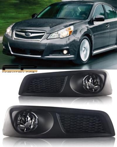 Wiring For 2010 2011 2012 Subaru Legacy BM9 Fog Lights Clear Lens Complete Kit