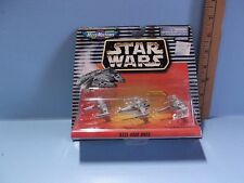Micro Machines XIII Star Wars Red, Blue, Green X-Wing Battle Damaged Fighters