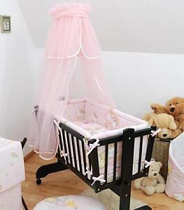 baby sonnendach f r schaukel wiege schwingend moseskorb pink ebay. Black Bedroom Furniture Sets. Home Design Ideas