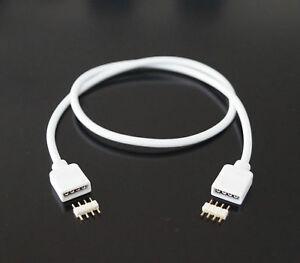 2 x  2m 200cm Verlängerung Anschluss Kabel für 4 Pin LED RGB Leiste Streifen